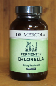 Chlorella bottle