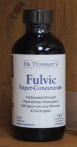 Fulvic bottle