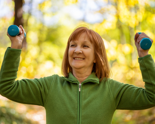 Proper diet, strength exercise are natural ways to prevent osteoporosis